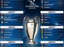 Calendario, clasificaci?n y Grupos. UEFA