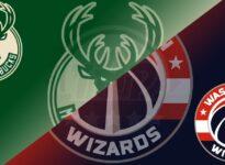 Estados Unidos NBA Washington Wizards vs Milwaukee Bucks